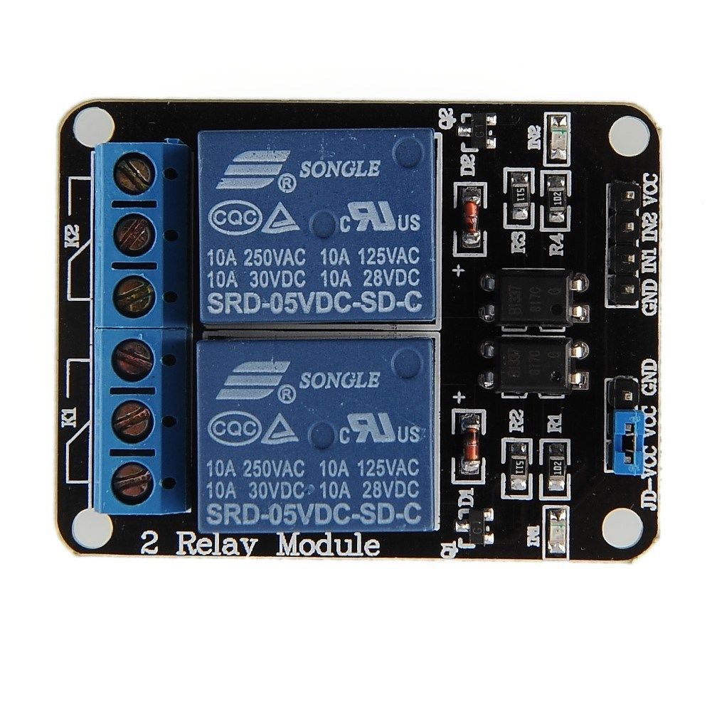 The relay board from eBay